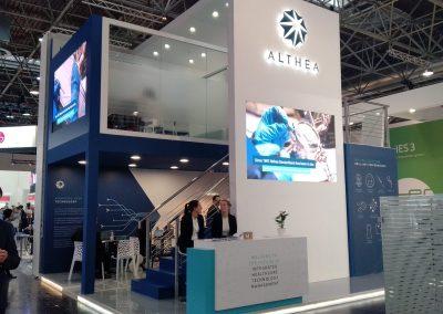 Medica Düsseldorf stand Althea