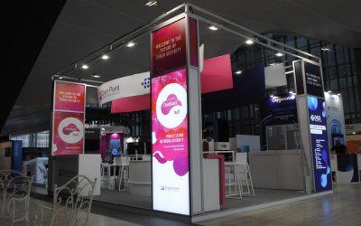 Progettazione e noleggio stand per il Cybertech