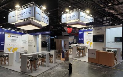 Emerging Travel stand personalizzati