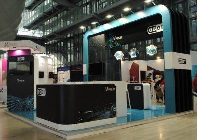 Cybertech Europe stand Eset
