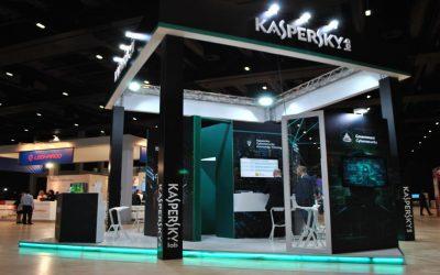 Stand Kaspersky Lab per il Cybertech Worldwide