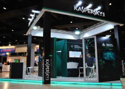 Kaspersky Lab stand per Cybertech