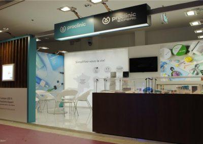 Allestimenti per fiere odontoiatriche Proclinic e Dentaclick