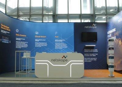Progettazione e noleggio stand per il Cybertech Europe
