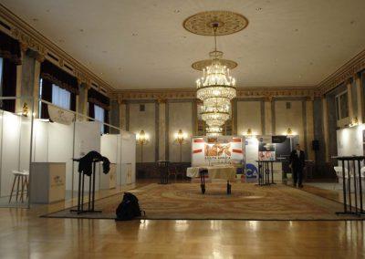 Stand modulari per congressi