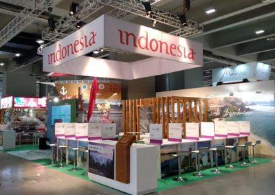 Realizzazione stand Indonesia al BIT