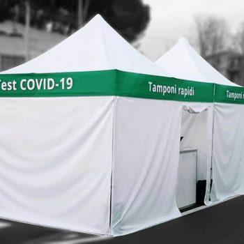 gazebo per test covid